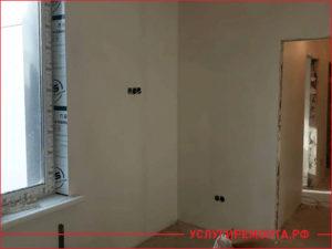 Второй этап ремонта квартиры, перенос розетки