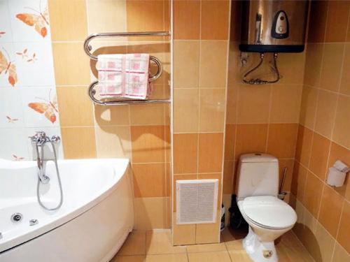 Готовый ремонт ванной комнаты