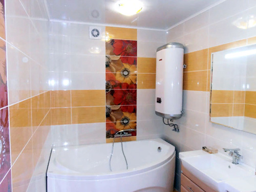 Дизайн ремонта ванной комнаты с бойлером