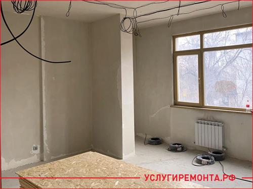 Капитальный ремонт однокомнатной квартиры в хрущевке