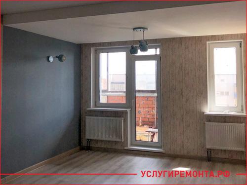 Законченный евроремонт квартиры студии