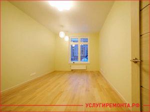 Законченный косметический ремонт квартиры