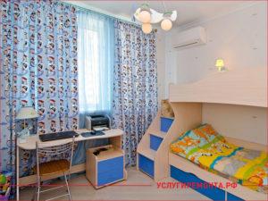 Косметический ремонт детской комнаты в панельном доме