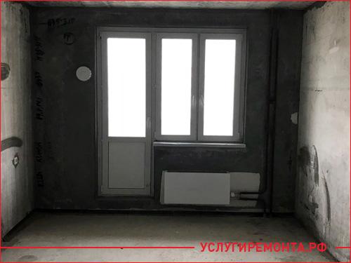 Начало ремонта в однокомнатной квартиры