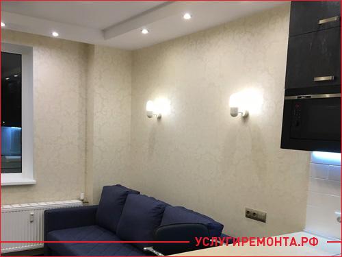 Обновленная квартира от застройщика после косметического ремонта