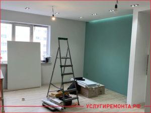 Процесс капитального ремонта квартиры с переносом стен