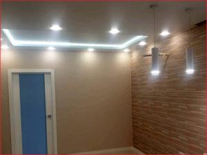 Законченный ремонт комнаты студии
