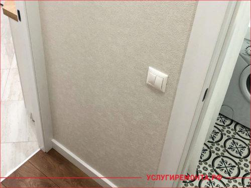 Сделанный ремонт в коридоре