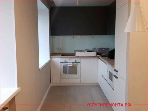 Ремонт маленькой кухне в двухкомнатной квартире